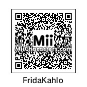 QR Code for Frida Kahlo by HelloWorld