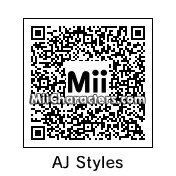 QR Code for AJ Styles by reenter23