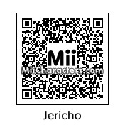 QR Code for Chris Jericho by reenter23