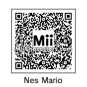QR Code for NES Mario by Junks