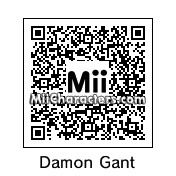 QR Code for Damon Gant by NonaryGame