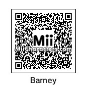 QR Code for Barney Rubble by Edward Elric