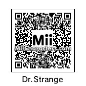 QR Code for Doctor Stephen Strange by Mryoshi64
