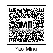 QR Code for Yao Ming by Chadtronic