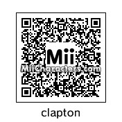 QR Code for Eric Clapton by totingres