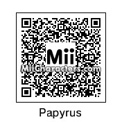QR Code for Papyrus by Corporate