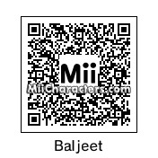 QR Code for Baljeet by GIBBY