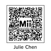 QR Code for Julie Chen by Pakled