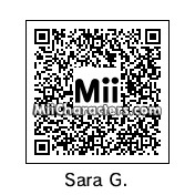 QR Code for Sara Gilbert by Pakled