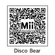 QR Code for Disco Bear by Bloo