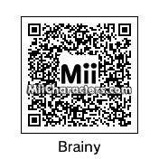 QR Code for Brainy Smurf by Bloo