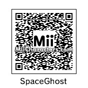 QR Code for Space Ghost by Herman