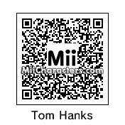 QR Code for Tom Hanks by Ajay