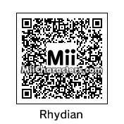 QR Code for Rhydian Roberts by Peachy Pie