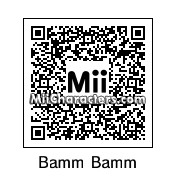 QR Code for Bamm-Bamm Rubble by Daffy Duck