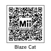 QR Code for Blaze the Cat by #1Zeldafan