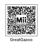 QR Code for The Great Gazoo by LYJ12