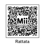 QR Code for Rattata by Pikachu
