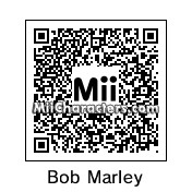 QR Code for Bob Marley by Tocci
