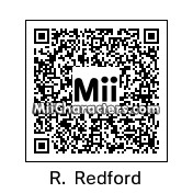 QR Code for Robert Redford by Ajay