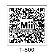 QR Code for Terminator Series T-800 by Bobbybobby