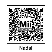 QR Code for Rafael Nadal by Tito