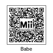 QR Code for Babe Ruth by Tito