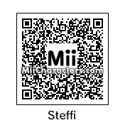 QR Code for Steffi Graf by Tito