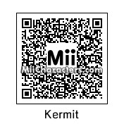 QR Code for Kermit the Frog by BobbyBobby