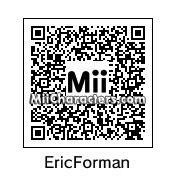 QR Code for Eric Forman by Tocci