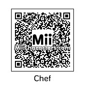 QR Code for Chef by Toon and Anime
