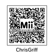 QR Code for Chris Griffin by Toon and Anime