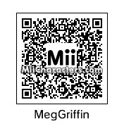 QR Code for Meg Griffin by Toon and Anime