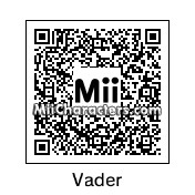 QR Code for Darth Vader by !SiC