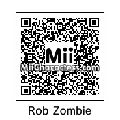 QR Code for Rob Zombie by Mr Tip