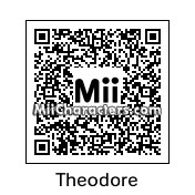 QR Code for Theodore Seville by Toon and Anime