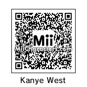 QR Code for Kanye West by ¡djns!