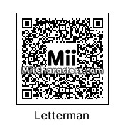 QR Code for David Letterman by Ajay