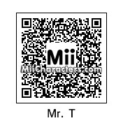 QR Code for Mr. T by Killa Kam