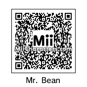 QR Code for Mr. Bean by Alex
