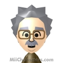 Albert Einstein Mii Image by bzm