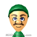 Luigi Mii Image by Topher