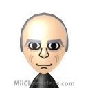 Christopher Lloyd Mii Image by BJ Sturgeon