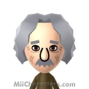 Albert Einstein Mii Image by Techno Tater