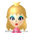 Princess Peach Mii Image by Noggers