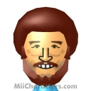 Bob Ross Mii Image by IntroBurns