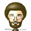 Bob Ross Mii Image by Junks