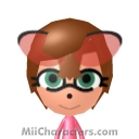 Amy Rose Mii Image by Red