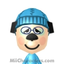 Huckleberry Hound Mii Image by 9-Volt