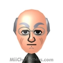 Christopher Lloyd Mii Image by Luig-e